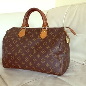 Louis Vuitton Bags - Louis Vuitton Monogram Speedy 30 Vintage